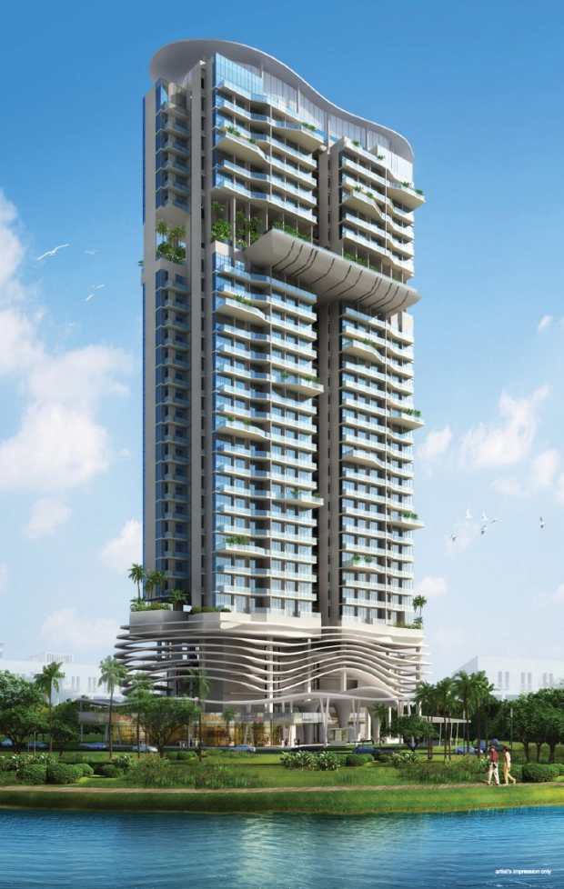 Kallang Riverside - Artist Impression 1