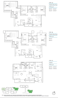 Kallang Riverside Floorplan 4